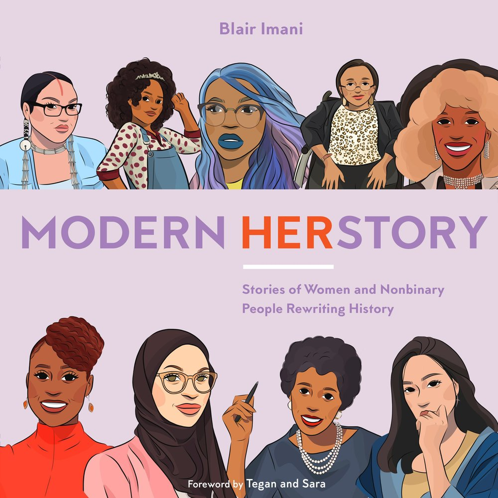 Buy your copy of Modern HERstory - Click the image to shop from a variety of bookstores