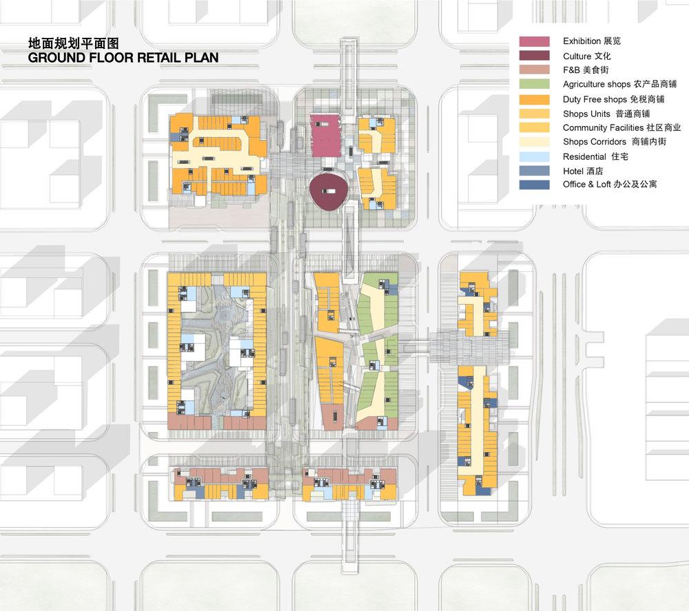 Retail Strategic Plan 商业策略平面