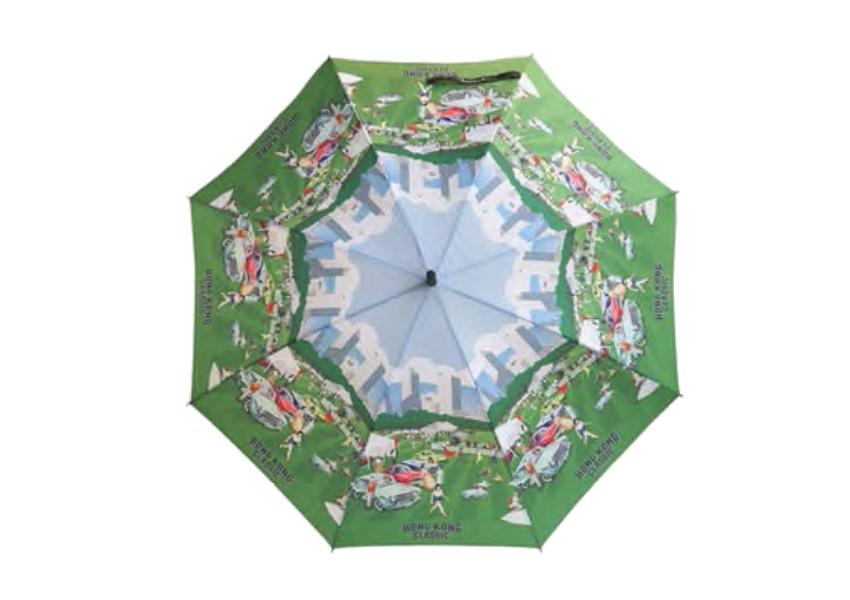 Hong Kong Classic Stick Umbrella