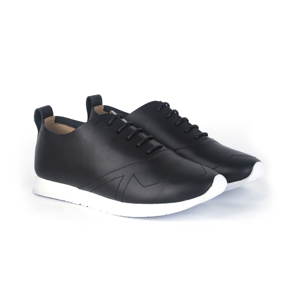 SQ37 Leather Sneakers