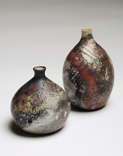 some Pit-fired pots by liz duarte