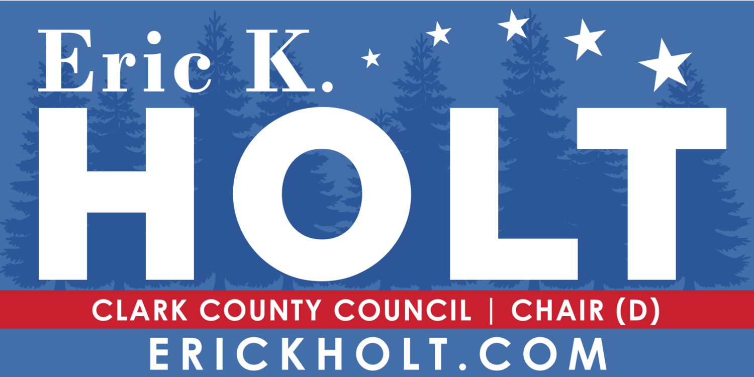 Eric K. Holt For Clark County Council Chair (At-Large)