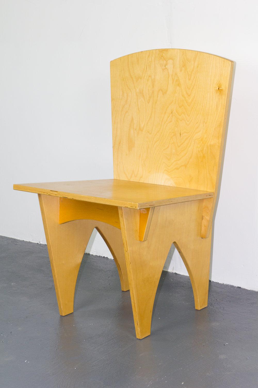 Interlocked Plywood Chair