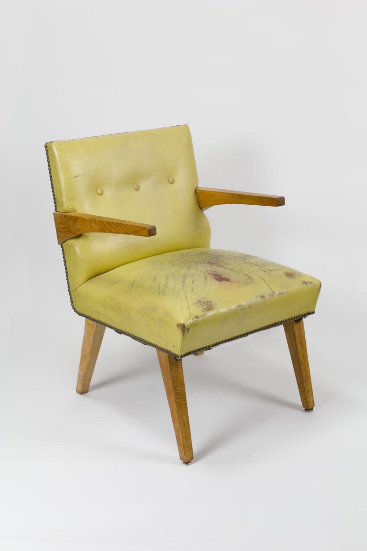 American Modern Birch Armchair