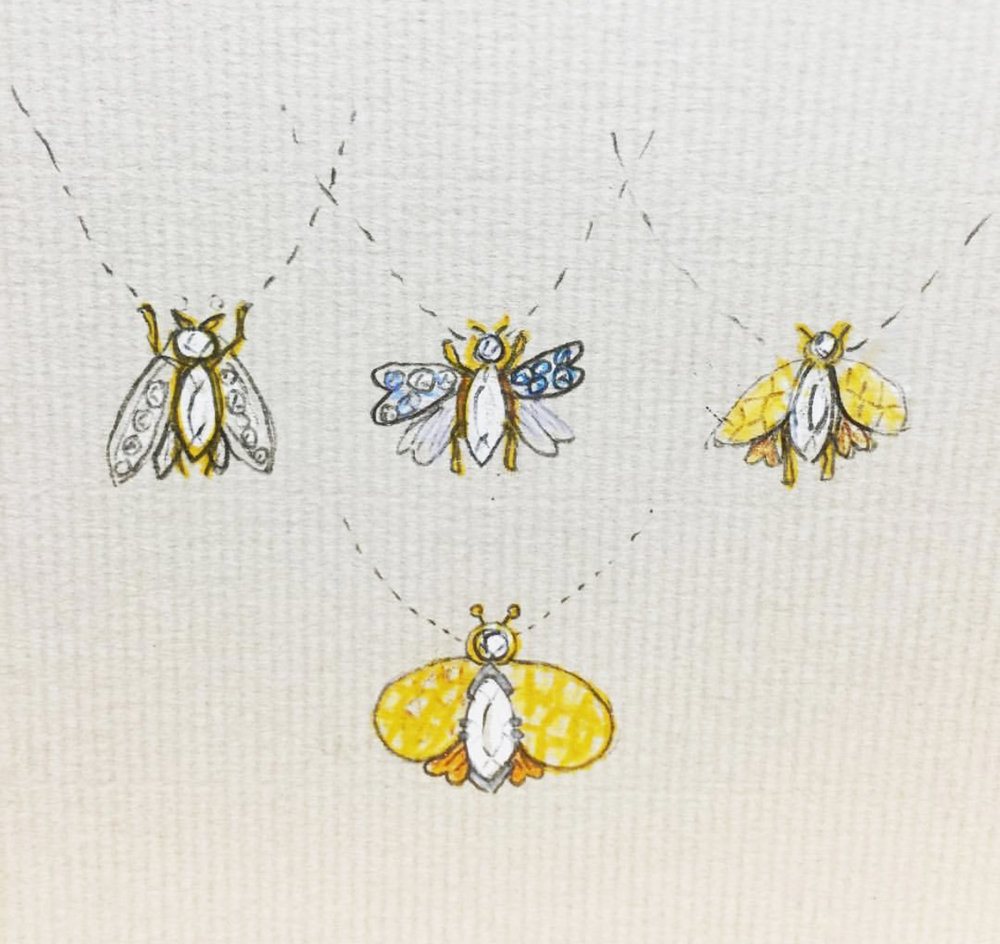 Bee pendant ideas