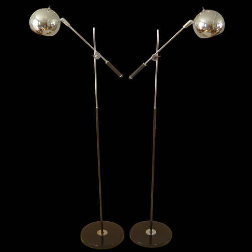 Robert sonneman space age floor lamp pair radiascence robert sonneman space age floor lamp pair aloadofball Images