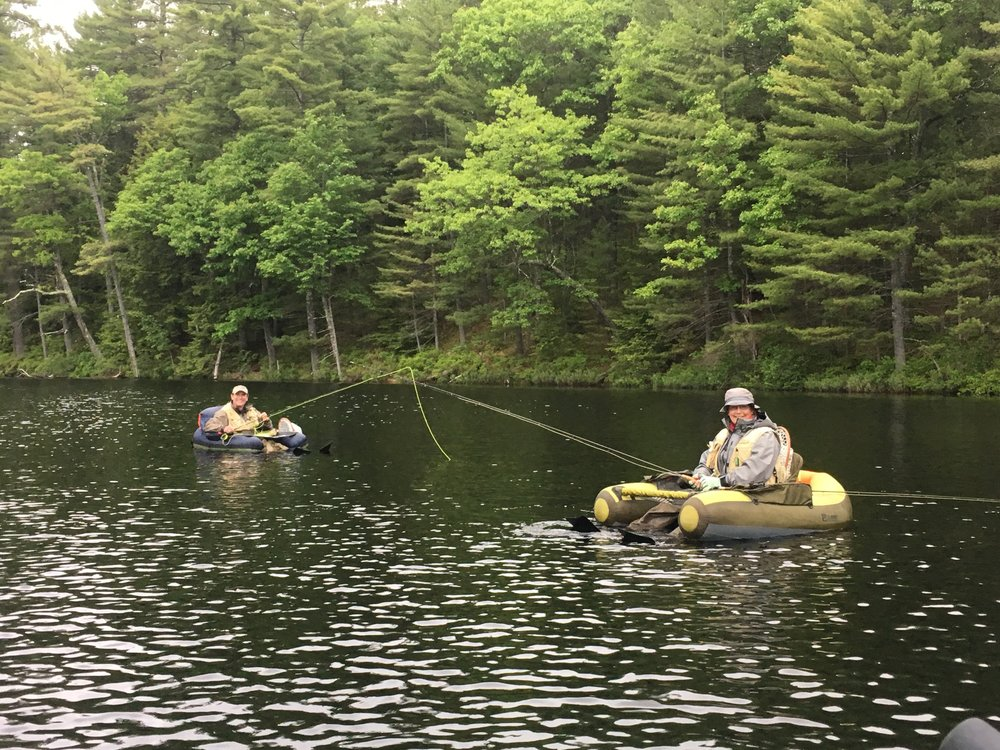 Fishing in White Montain National Forest.