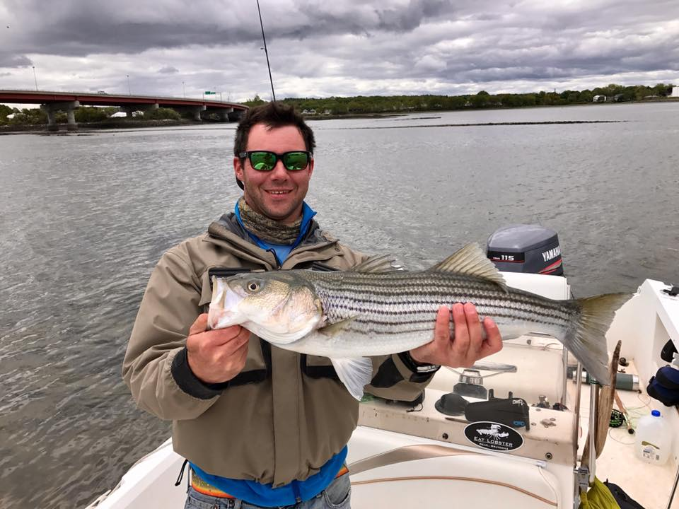 This very healthy fish was fooled with a clouser on the flats.