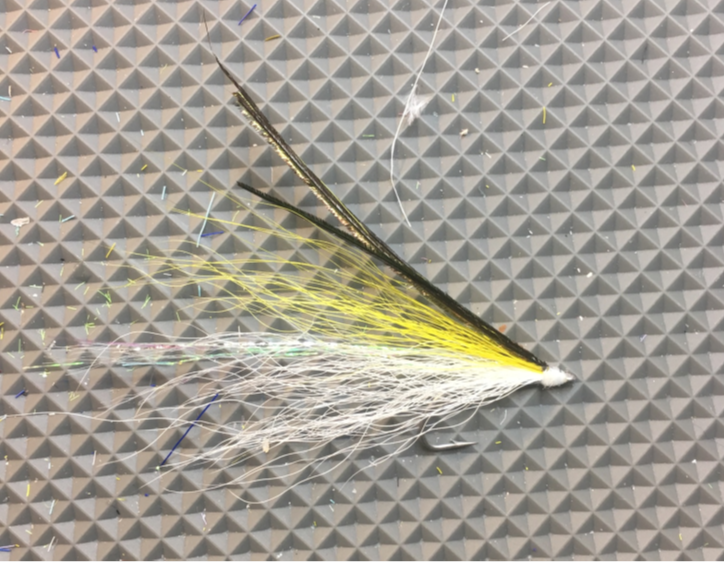 Ray's Fly is among the simplest and most effective striper flies I've ever used.