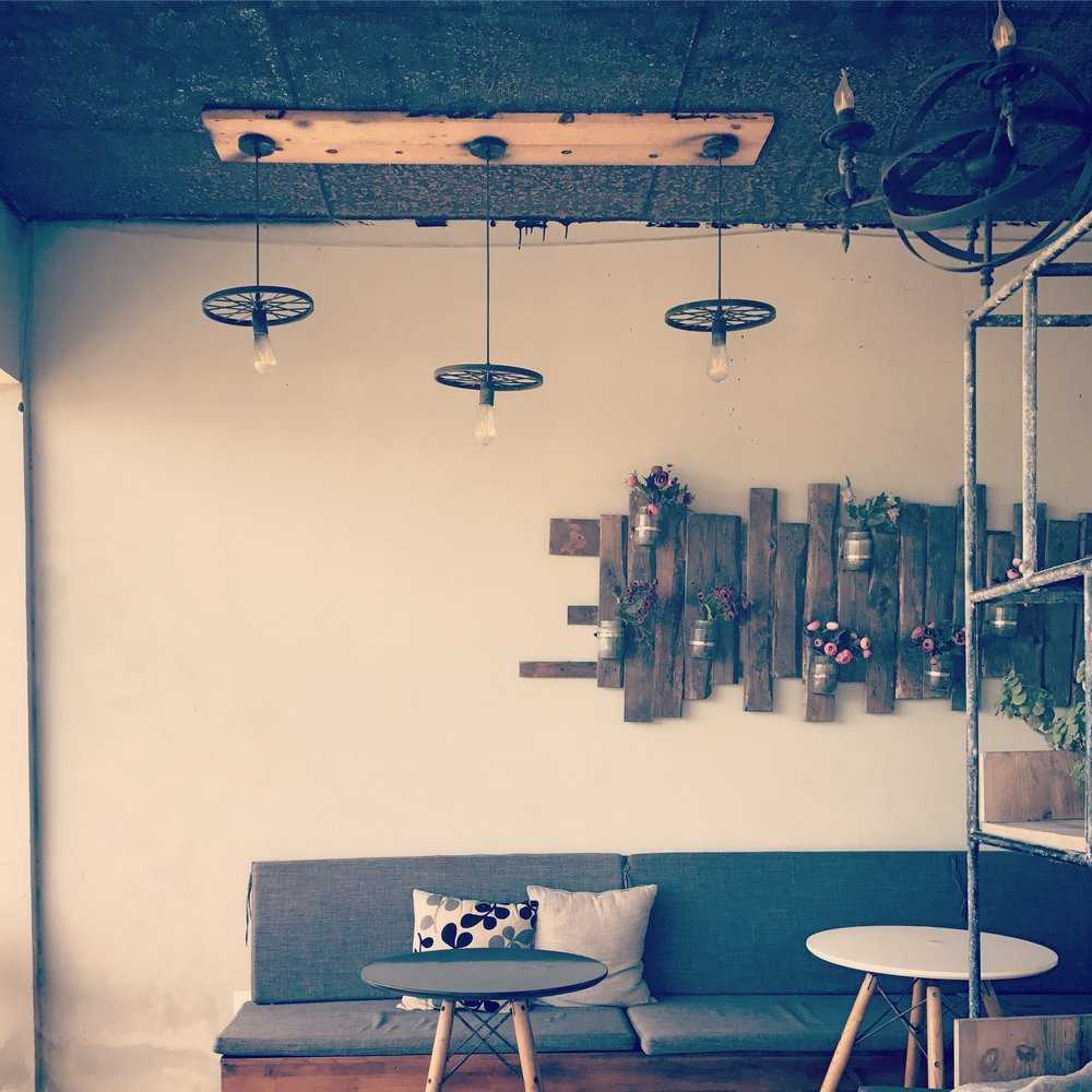 Adorable coffee shops for days...
