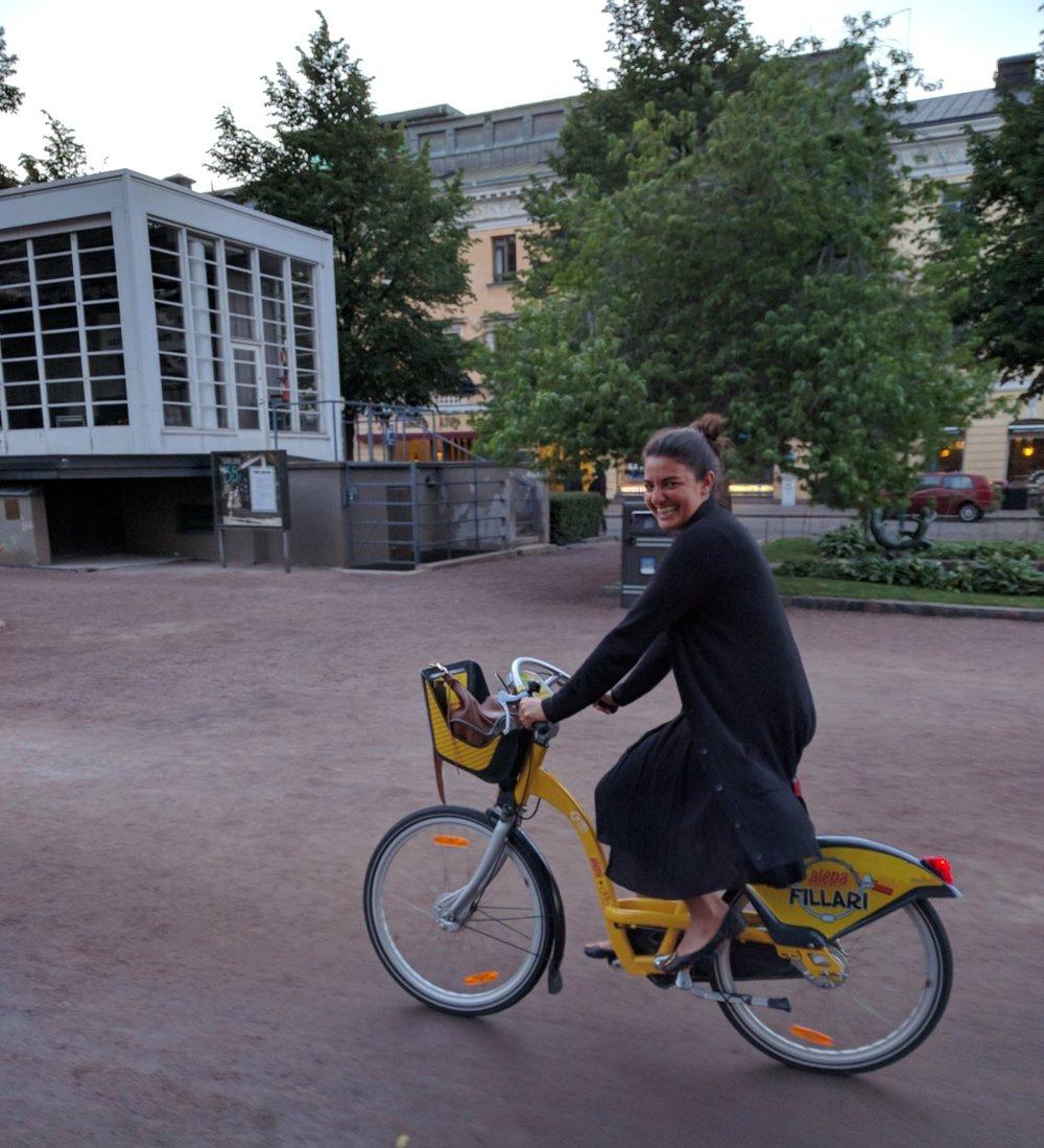 Riding Helsinki's Citybikes