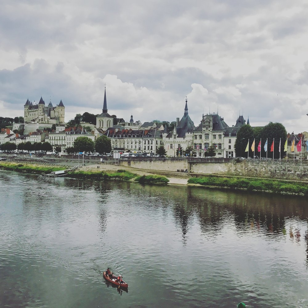 Saumur, another stop on our self-led wine tour