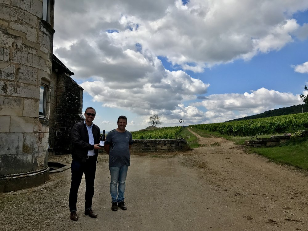 Domaine Joilet's winemaker/vineyard manager couldn't have been nicer