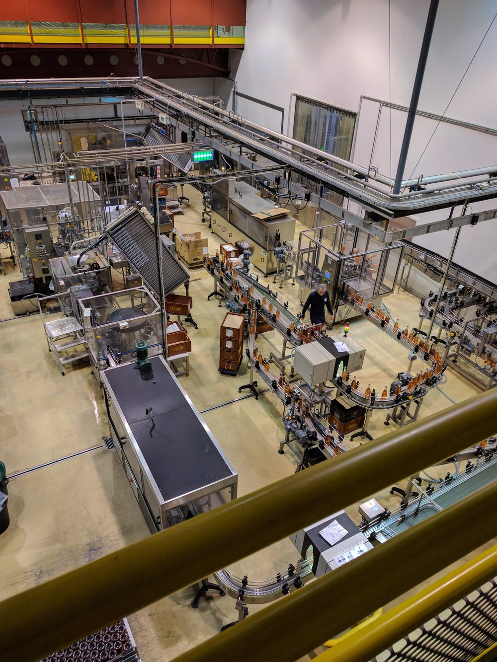 Veuve Ambal's bottling facility