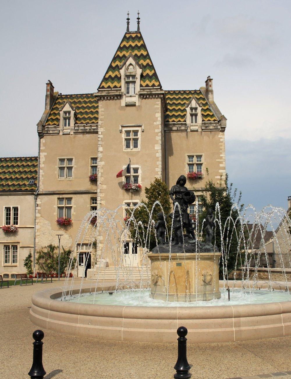 Near Meursault's main square