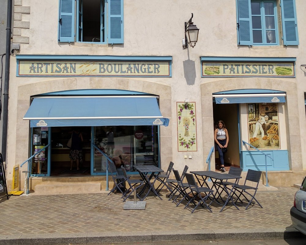 Meursault's Artisan Boulanger near the main square