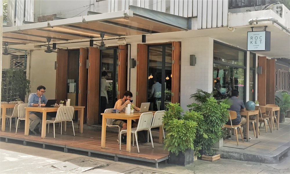 2. Rocket Coffee Bar -