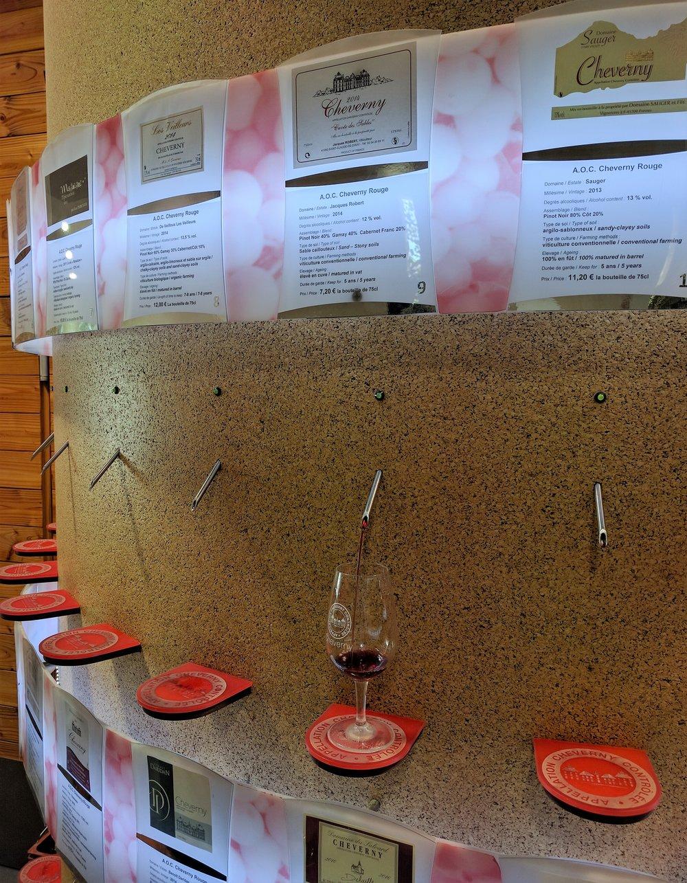 1. Maison des Vins de Cheverny -
