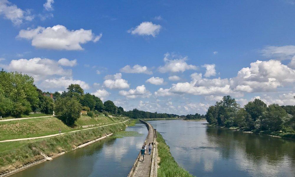 2. Loire Walking/ Biking Trails -