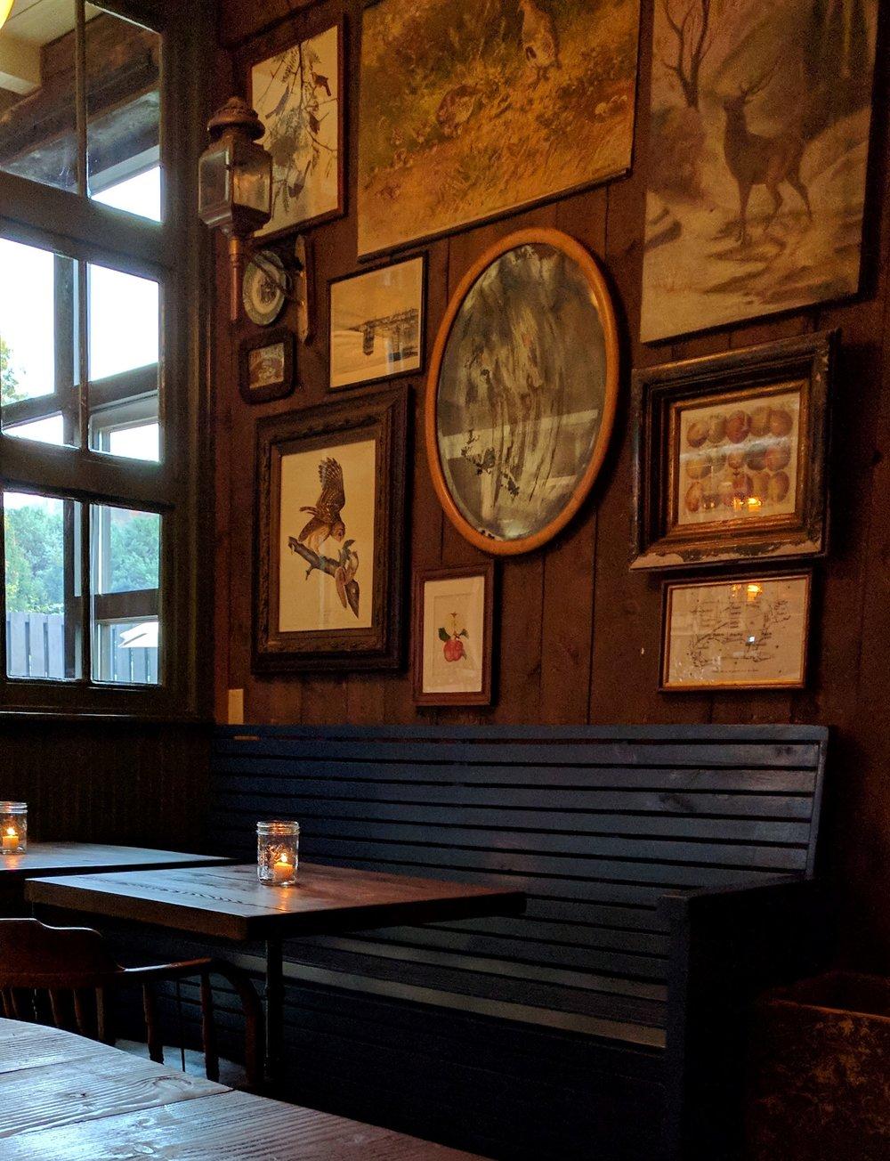 Inside Wayside Cider's Taproom