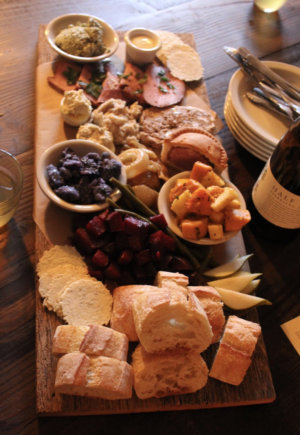 Charcuterie Board at Wayside Cider