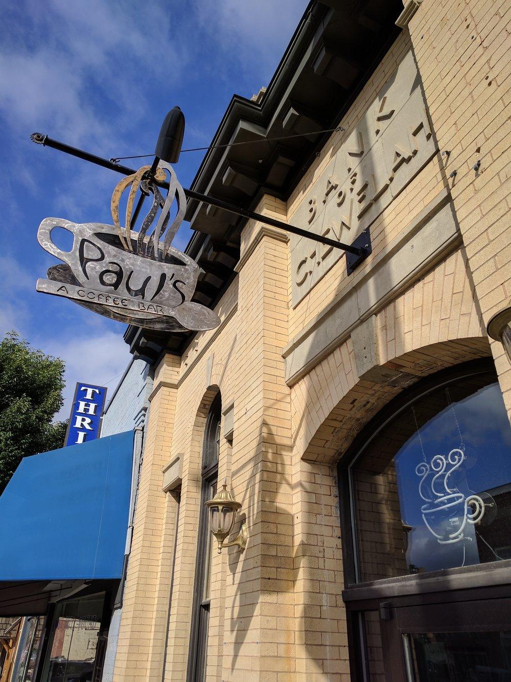 3. Paul's: A Coffee Bar -