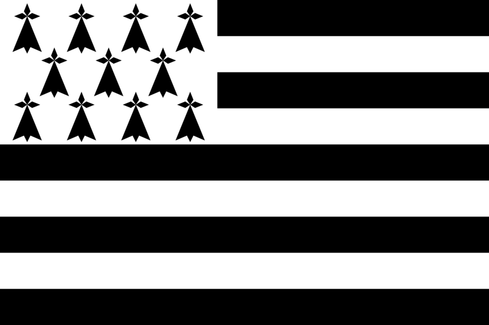 Brittany's Flag; Credit: Wikicommons