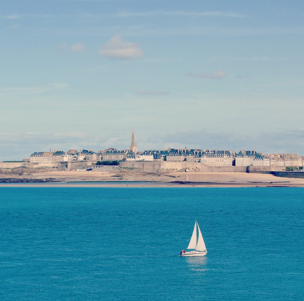 Views of Saint Malo from Dinard