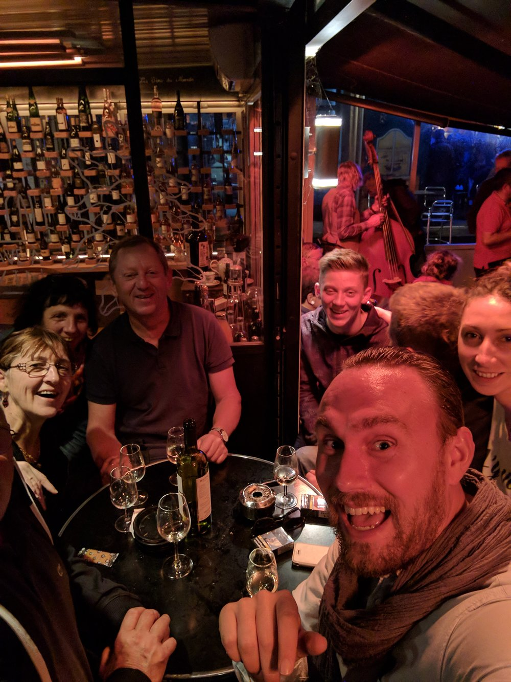 Night out with the airbnb hosts