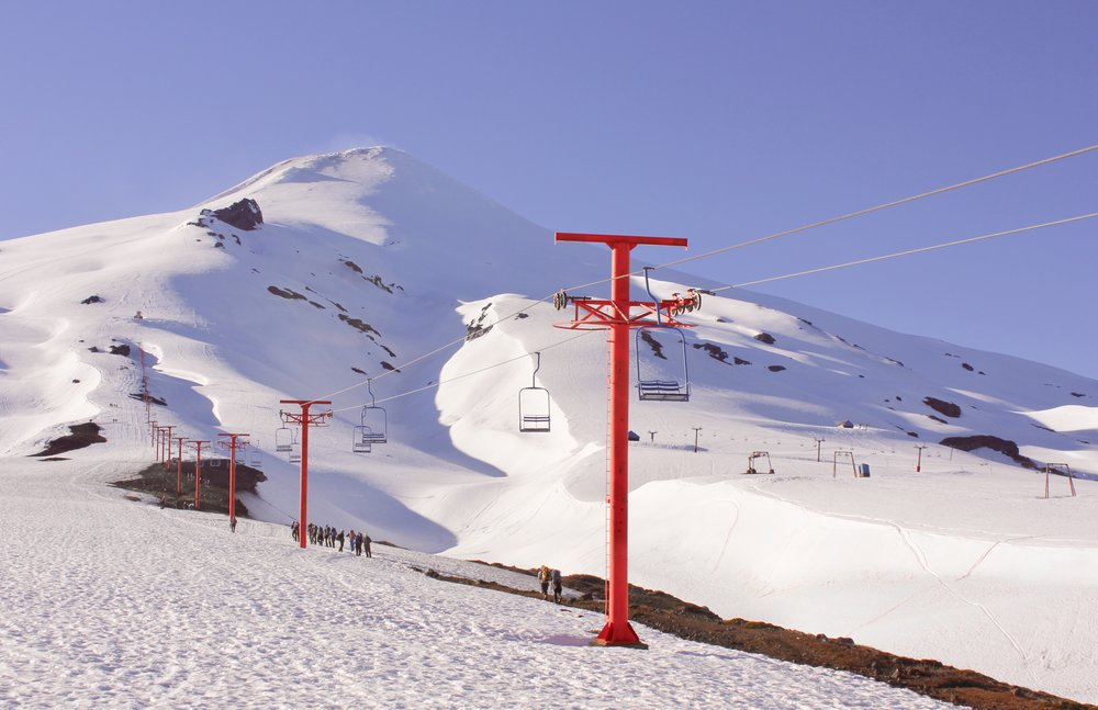 For perspective, the end of the chair lift is 1,800 meters