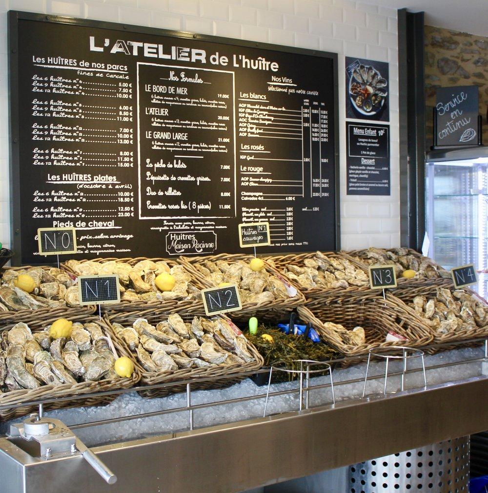 2. Restaurant L'Atelier de l'Huître -
