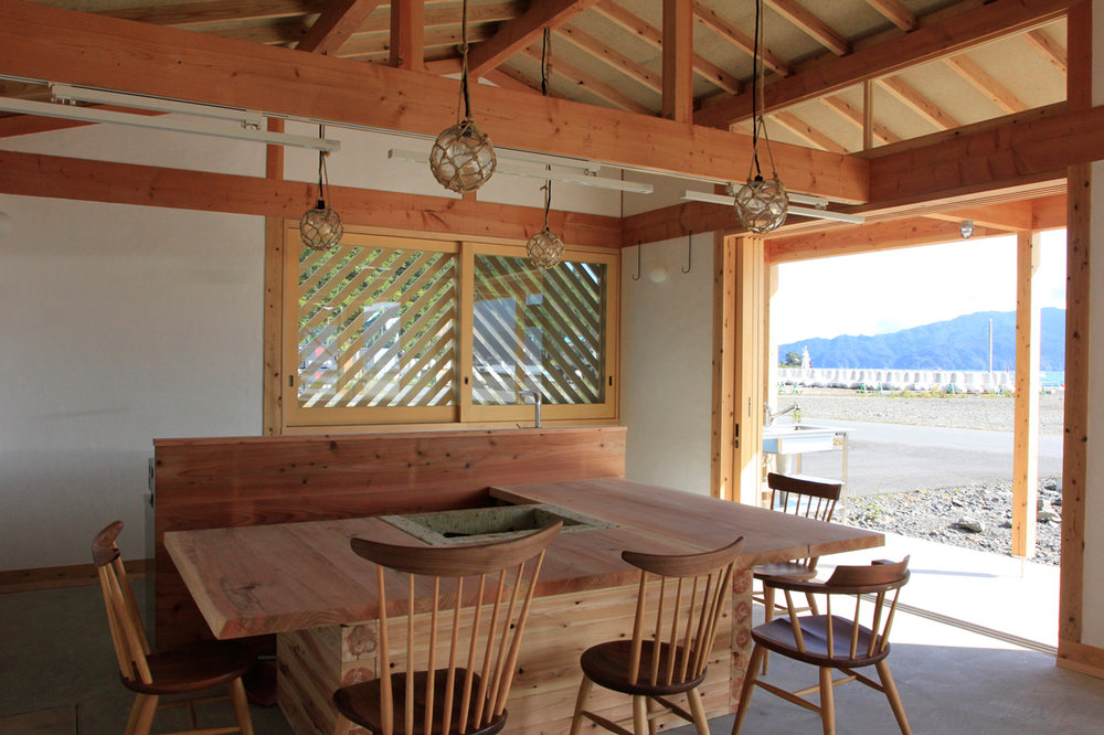 HOME-FOR-ALL FOR FISHERMEN IN KAMAISHI