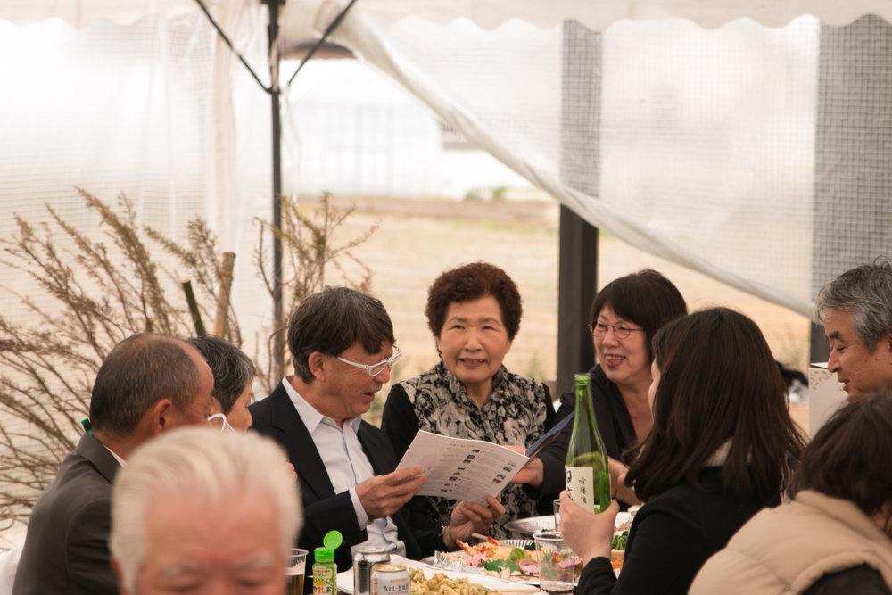 福田町の仮設からみんなの家を利用していたという住民さんは「津波がなかったらと考える事もあるけどどうしようもなかった。当時は辛かったけど今はまたここでみんなに会える。」とおっしゃっていました。  みなさん素敵な笑顔で私たちも元気をもらいました。今後もみんなの家がますます元気になりそうです!
