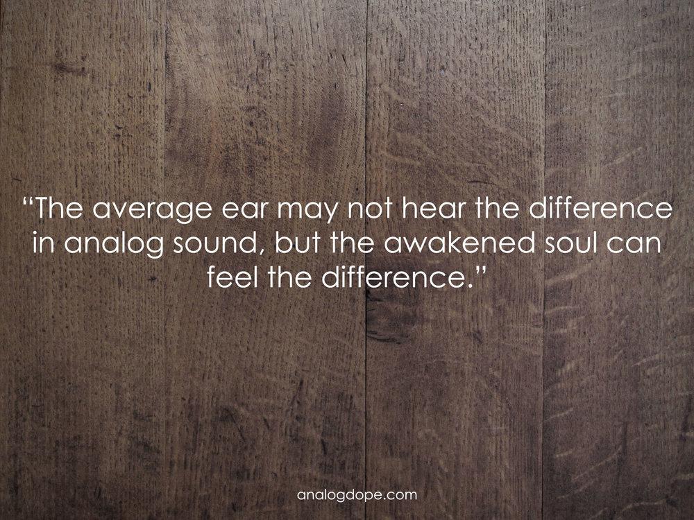 analog dope sound