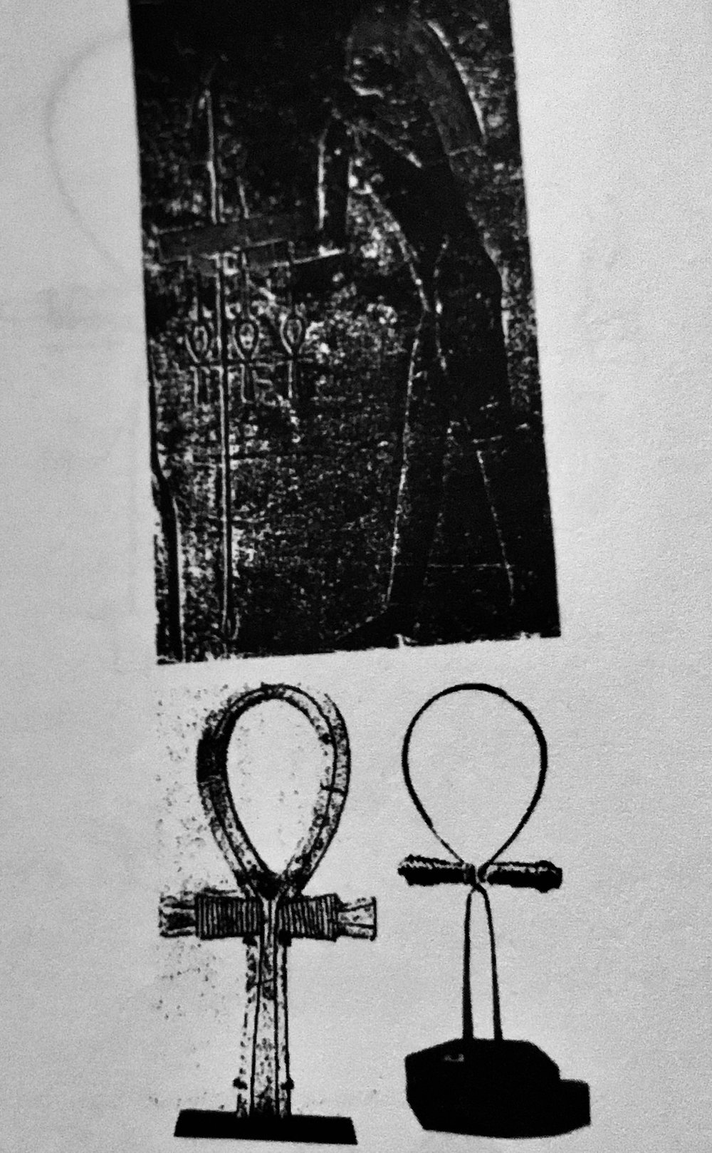 Ankh and Egyptian electromagnetic circuitry