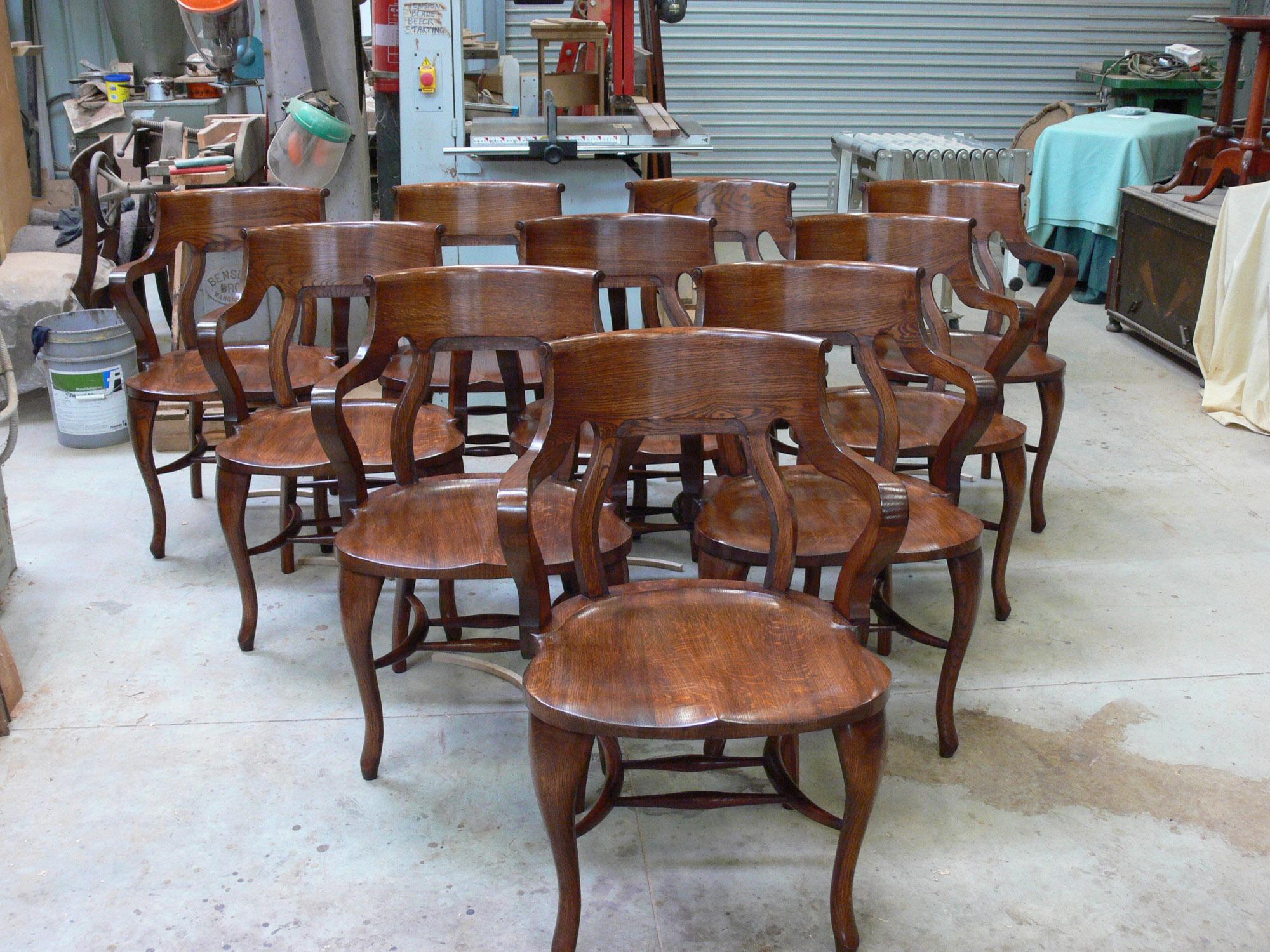 Superieur Oak Boardroom Chairs