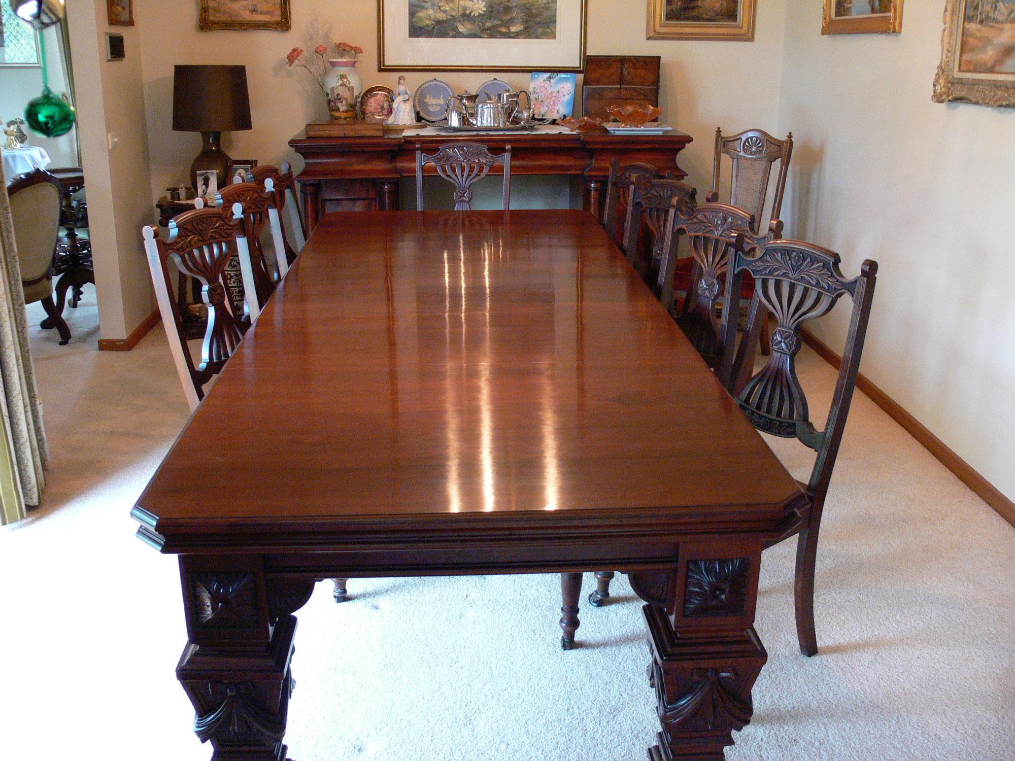 Edwardian Walnut Dining Chairs