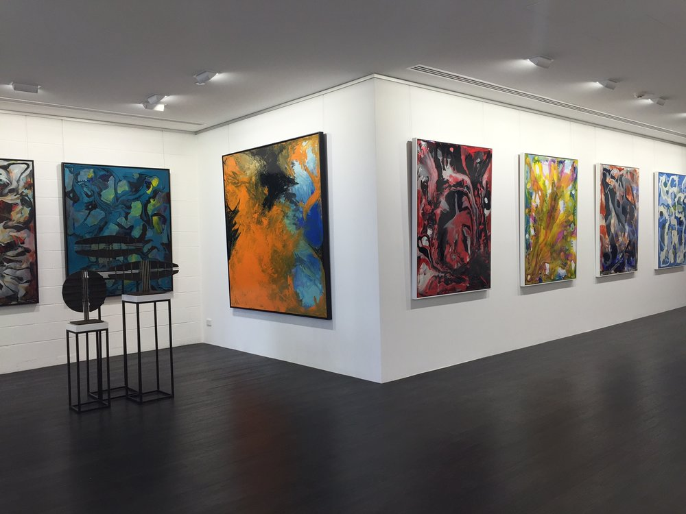 Thierry B's  Mindscape Series  at 473 Malvern Rd, South Yarra.