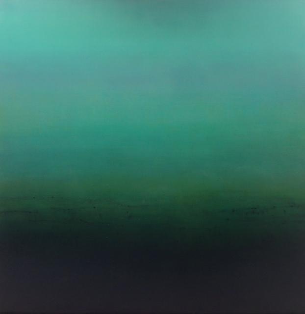Walk In Silence , Oil on Canvas, 168 x 168cm.
