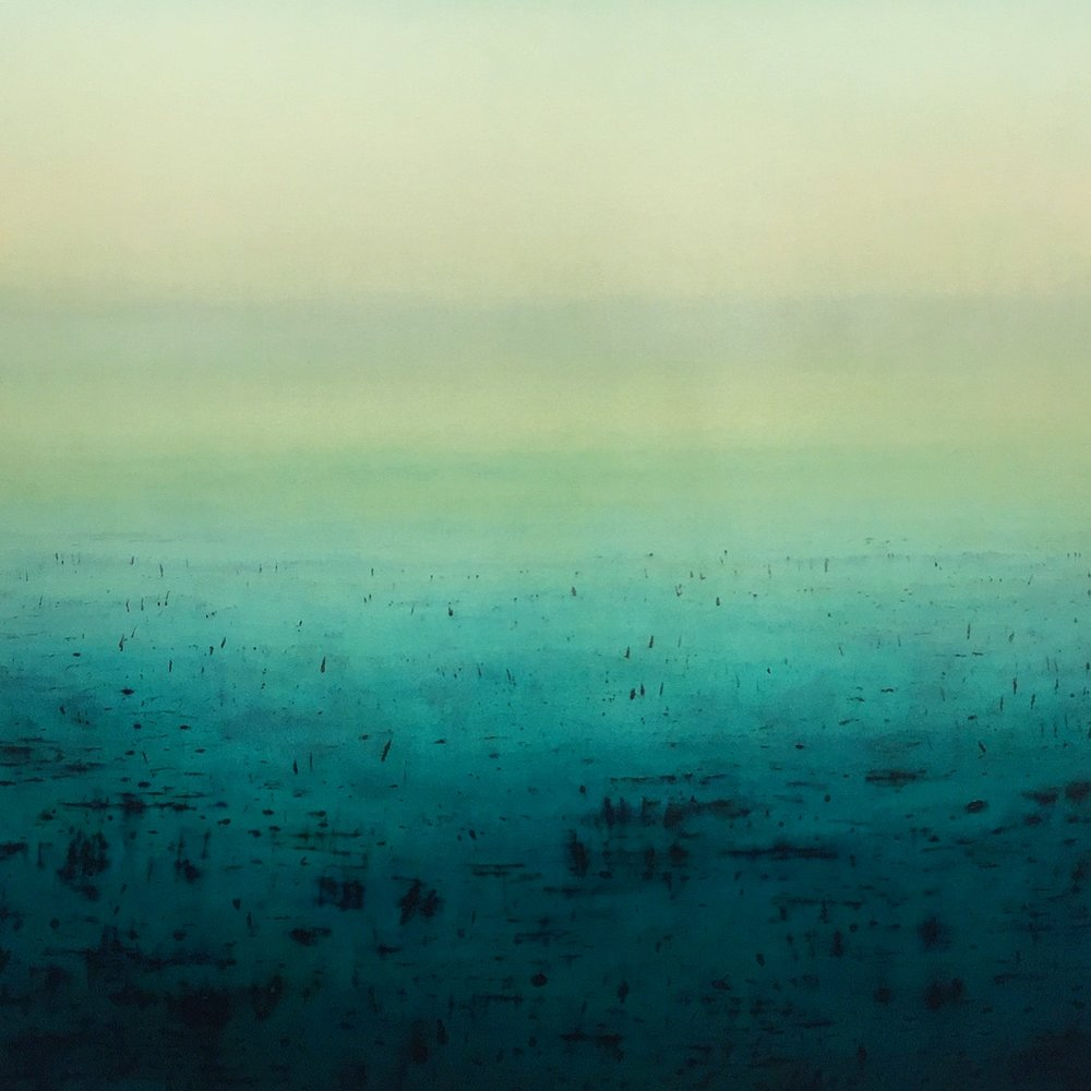 Patricia Heaslip,  Fortitude , Oil On Canvas, 183 x 183cm, P.O.A.
