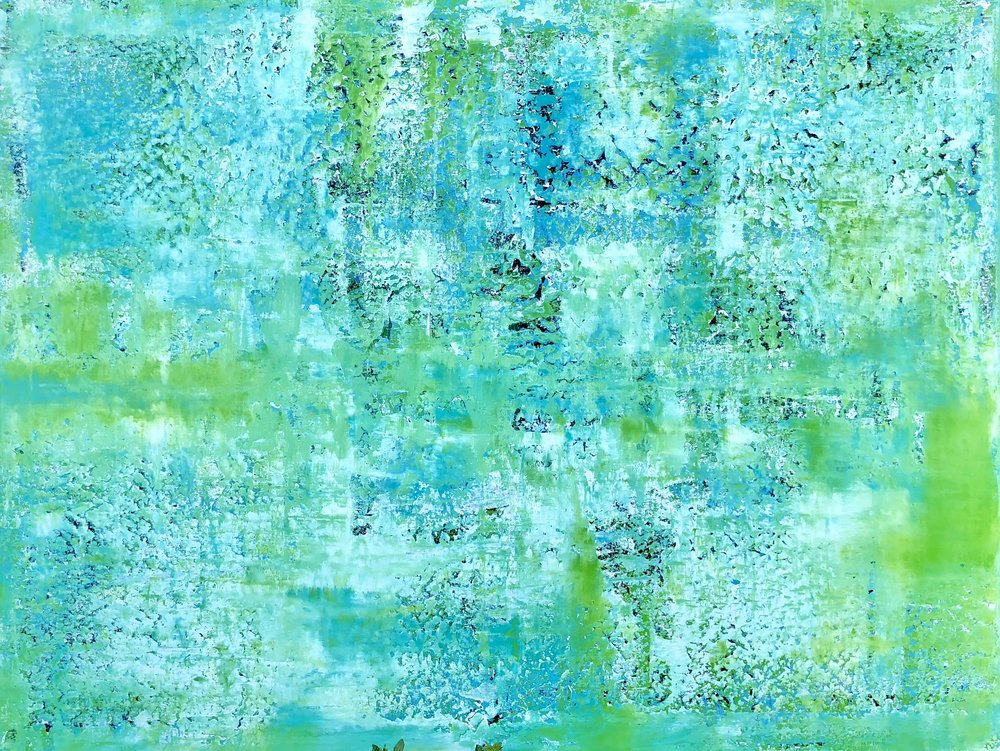 Above: Artwork by  Thierry B .,  Nuanced , 2018 – Dreamscape series, Synthetic Polymer Paint on Canvas, 137.5 x 180.5cm. Price on Application:   art@thierrybfineart.com