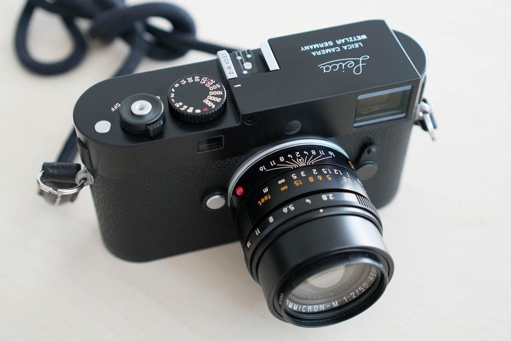 Ironically, photographed with a Sony A7s II. Front view of the Leica MD Typ 262. Has the same notched upper corner as the M9, but is noticeably not an M9, because of the function button mistaken by the lay person as the M240's video button.