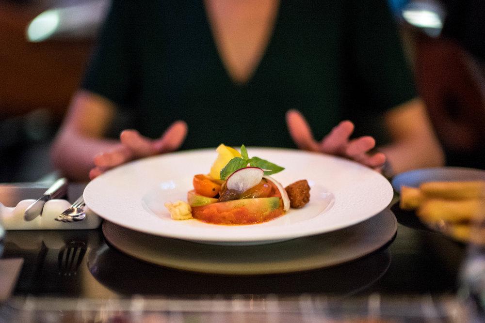 Pomodoro e Mozzarella di Bufala.