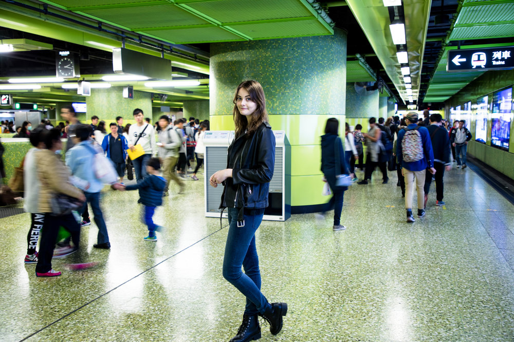 When I realized we're at the wrong subway platform. Shot at 35mm, ISO 250, 1/15s, f/4