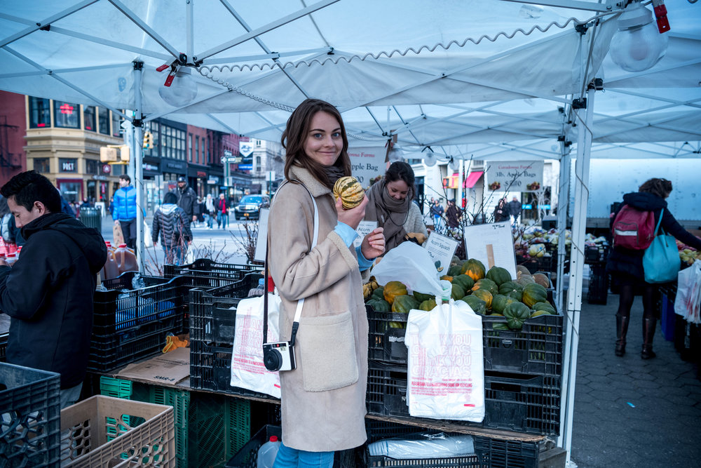 Leica M10 + Leica 28mm f/1.4 Summilux - The Farmer's Market at Union Square Park