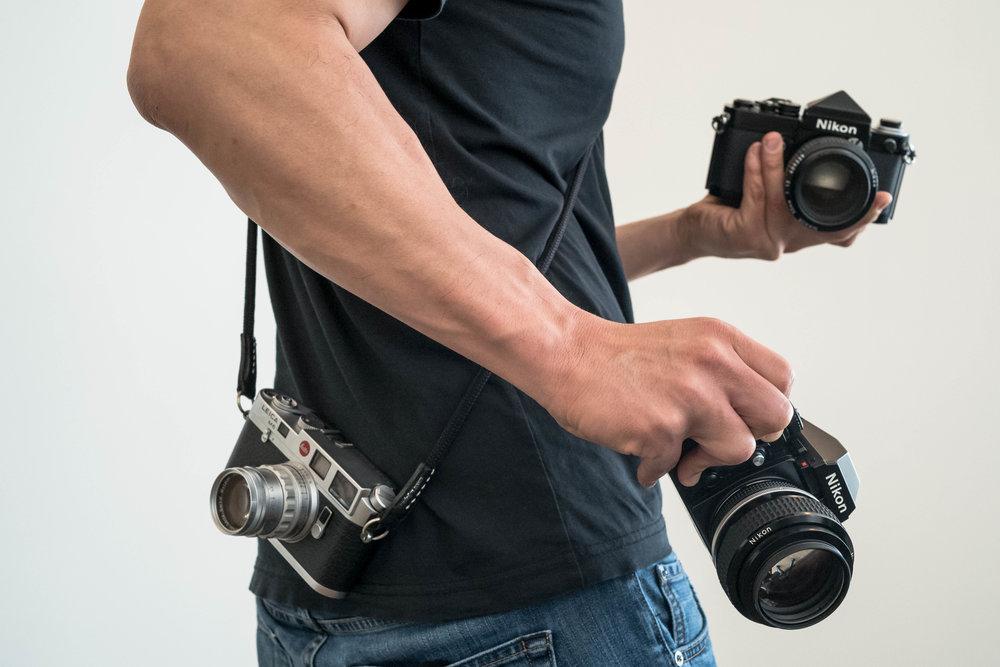 Leica M6 + Nikon F3 + Nikon F2