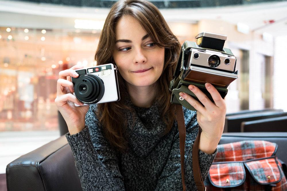 Leica Sofort + Mint SX-70