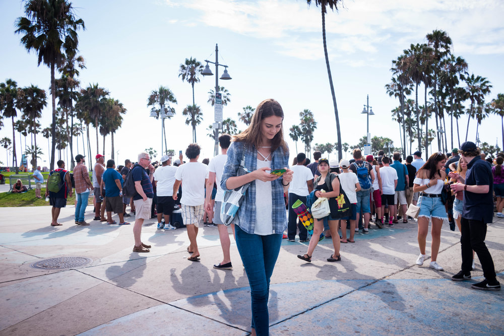 At the Venice Beach Promenade. Leica 28mm f/1.4 Summilux ASPH