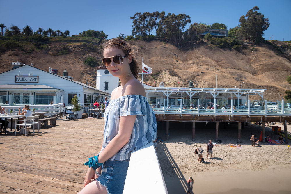 On Malibu Pier. Leica 28mm f/1.4 Summilux ASPH