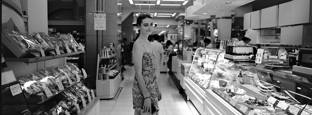 Next day, at the Ginza - Ilford XP2 Super 400